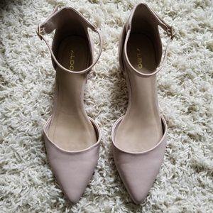 Nude / powder Aldo shoes